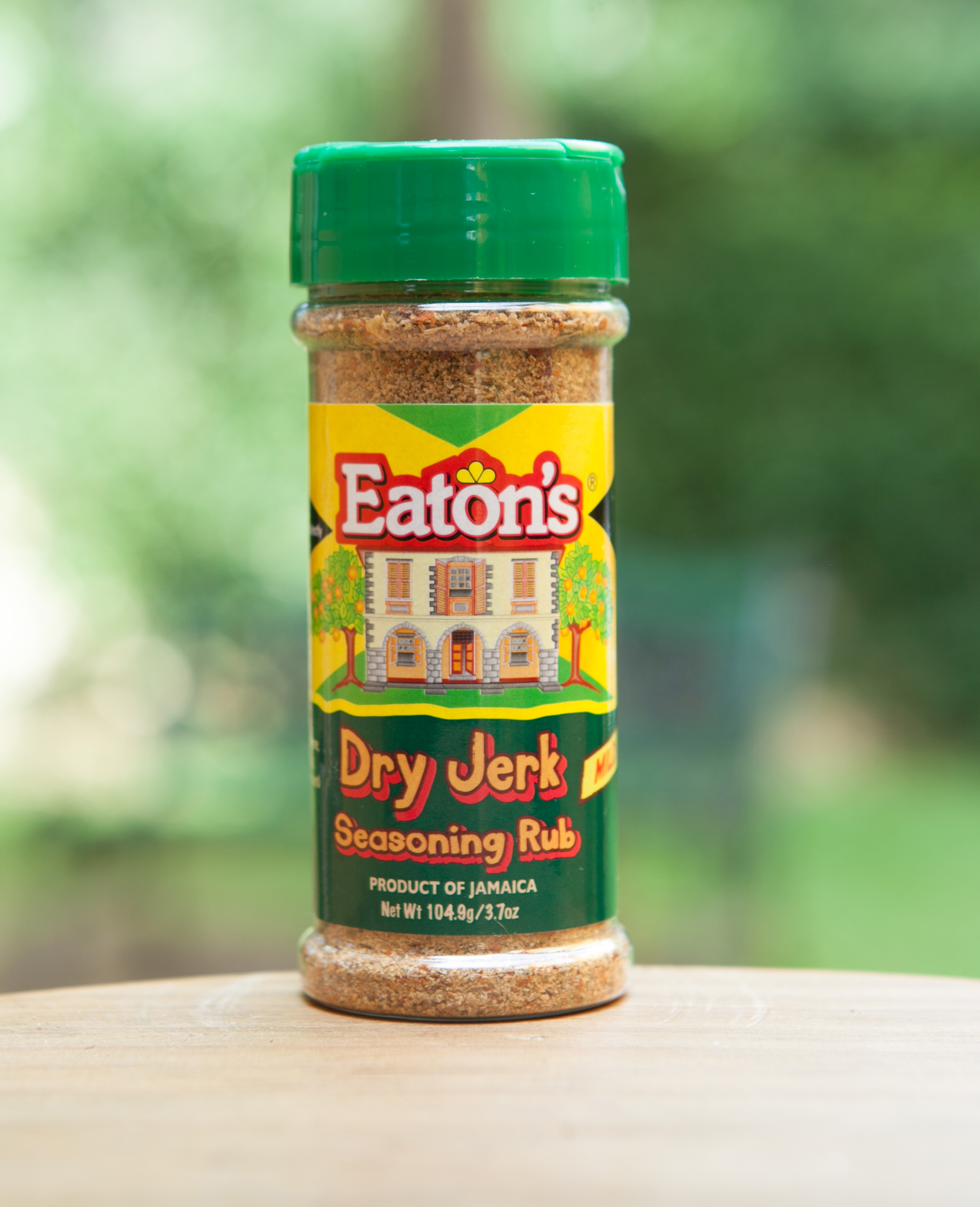 Eaton's Dry Jerk Seasoning Rub – Mild – 3.7 oz. | Eaton's